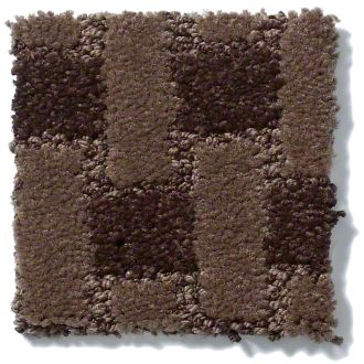 Brown Pattern Carpet Sample TCB Carpets